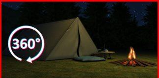 360 VR Horror: Camping Alone [4K]