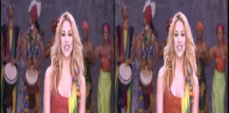 Shakira - Waka Waka Live in Stereoscopic 3D