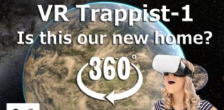 360 Video - Journey to Trappist-1 Solar System