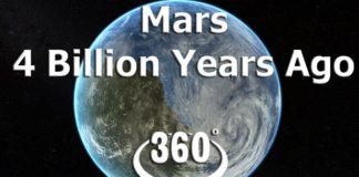Mars had an ocean 4 billion years ago 360 degree video