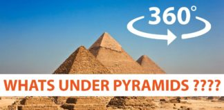 What Is Under the Great Pyramids of Giza?