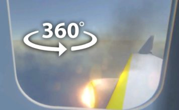 Plane Crash 360 Degree Video Experience
