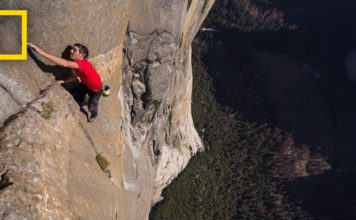 Free Solo Climb in 360 Degree Video