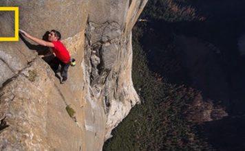 Free Solo Climb in 360 Degree Video