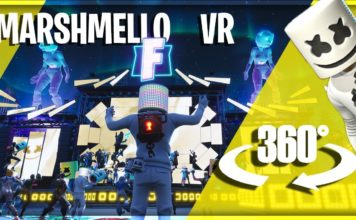 Fortnite's Marshmello Concert in VR
