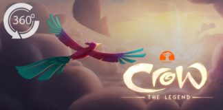Crow: The Legend VR 360 Animated Movie [HD] John Legend, Oprah, Liza Koshy