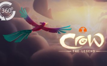 Crow: The Legend VR 360 Animated Movie [HD] John Legend, Oprah, Liza Koshy