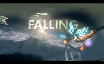 """Falling"" - an animated 360-degree music video by Xuxo Fernández"
