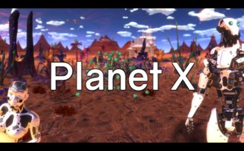 """Planet X"" - an animated 360-degree music video by Xuxo Fernández"