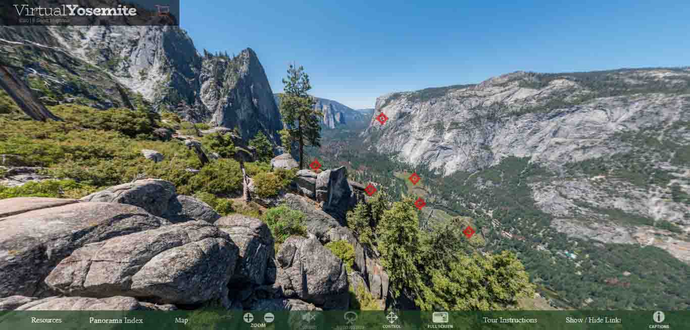 Union Point, Yosemite 360