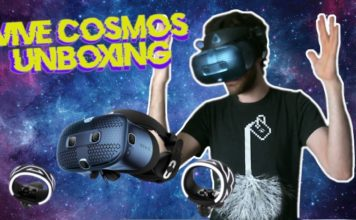 Unboxing the HTC Vive Cosmos