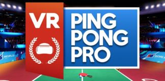 VR Ping Pong Pro To Launch Nov. 12 on HTC Vive and PS VR