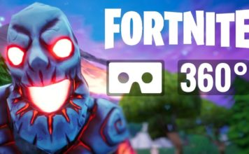 Fortnite Monsters and Zombies in 360 degrees
