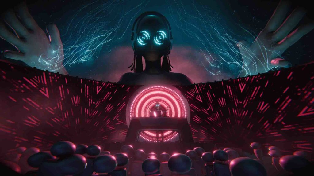 Wave recently collaborated with Rezz for an online virtual concert.