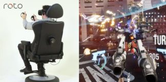 Roto VR Chair Now Shipping