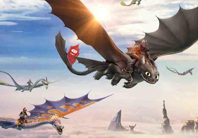 DreamWorks Dragons Flight Academy Opening in December