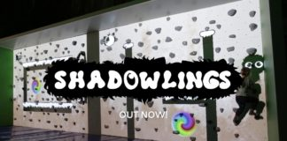 Chase Shadowlings in an AR Wall Climbing Game