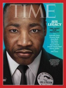 "TIME's cover image was created from a historically precise 3-D rendering of Martin Luther King Jr. from ""The March."""